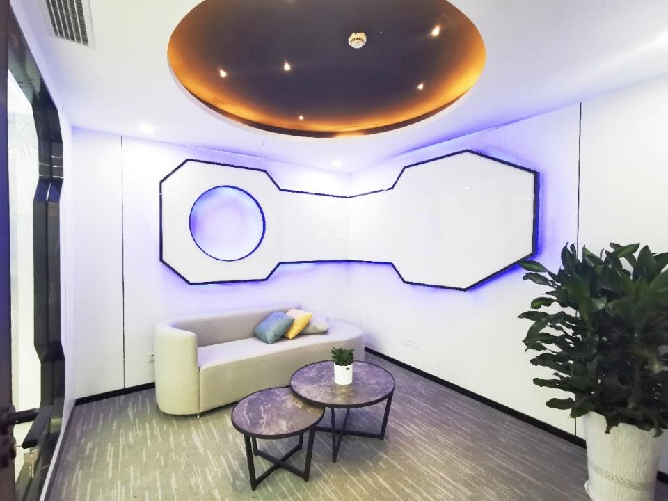 金融城CBD科技风格(3隔间20工位)东方希望中心358平米
