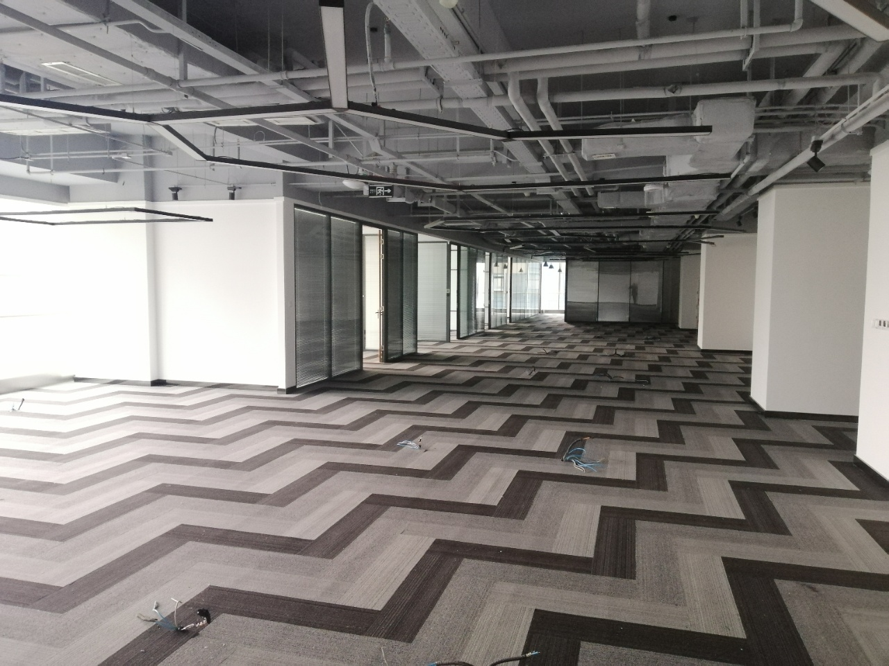 【超甲】OCG国际中心1492平米高品质办公室,不带家具全屋装修