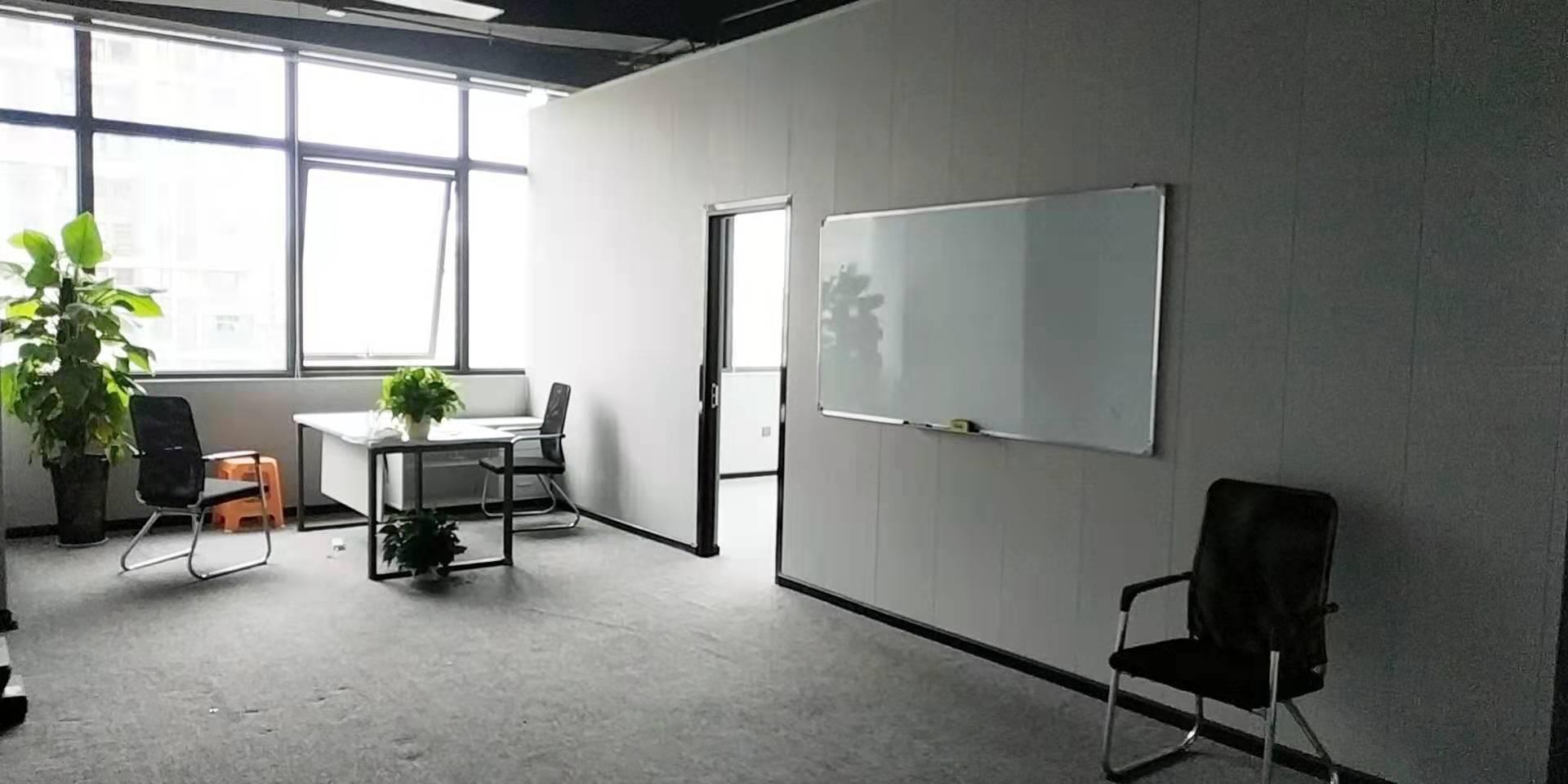 绿地跨贸产业园91平米,精装修干净大气 青羊区写字楼 青羊区办公室 租小团