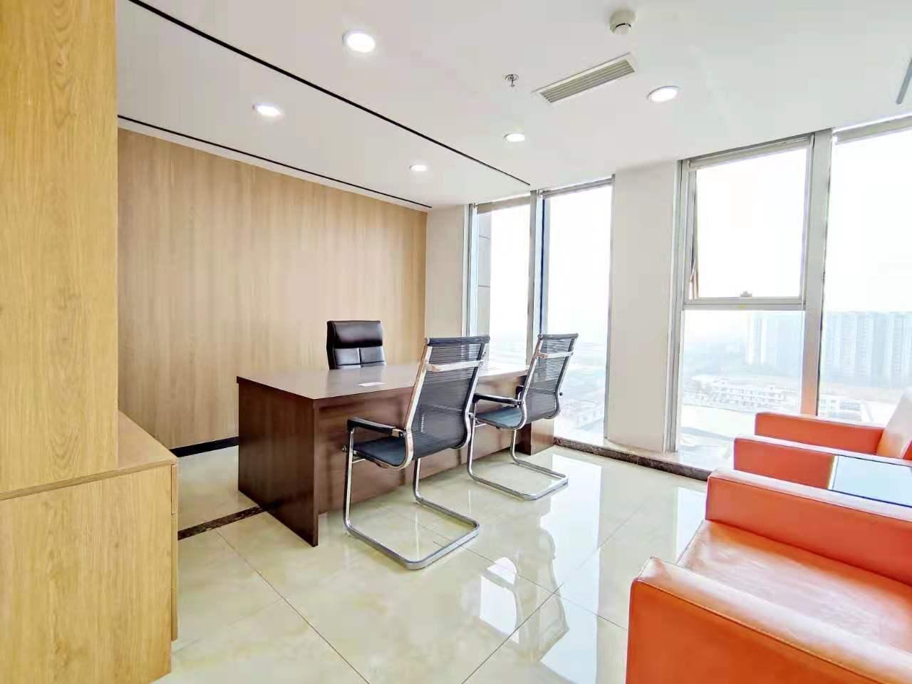 西城国际 219平米 高科技产业园(西区) 朝西南 大理石前台,超大电动门