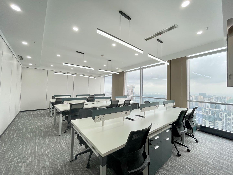 绿地468锦峰 地标建筑5隔间+18工位 稀缺大户型