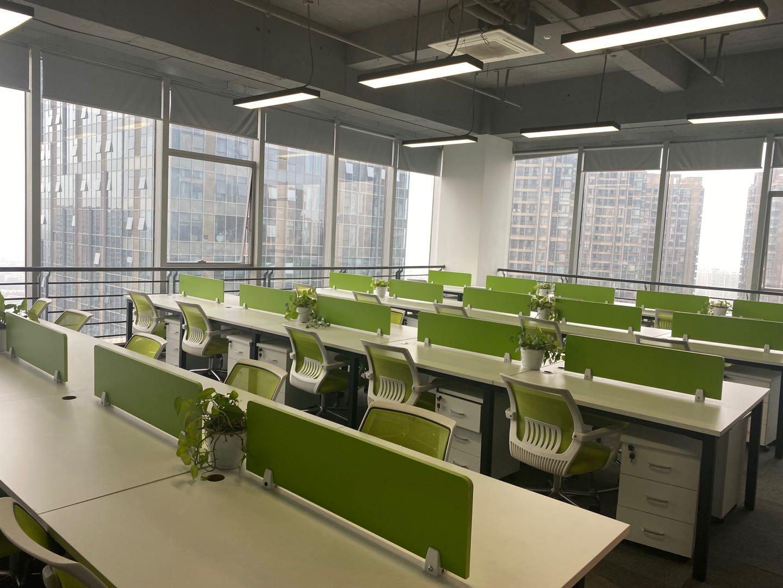 中汇国际中心235平米   3,7号线地铁口 精装修带家具 拎包办公