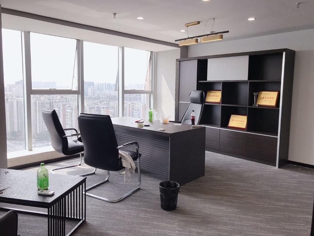 武侯区魏玛国际 高层423平 特价67元含物业 6隔间40工位