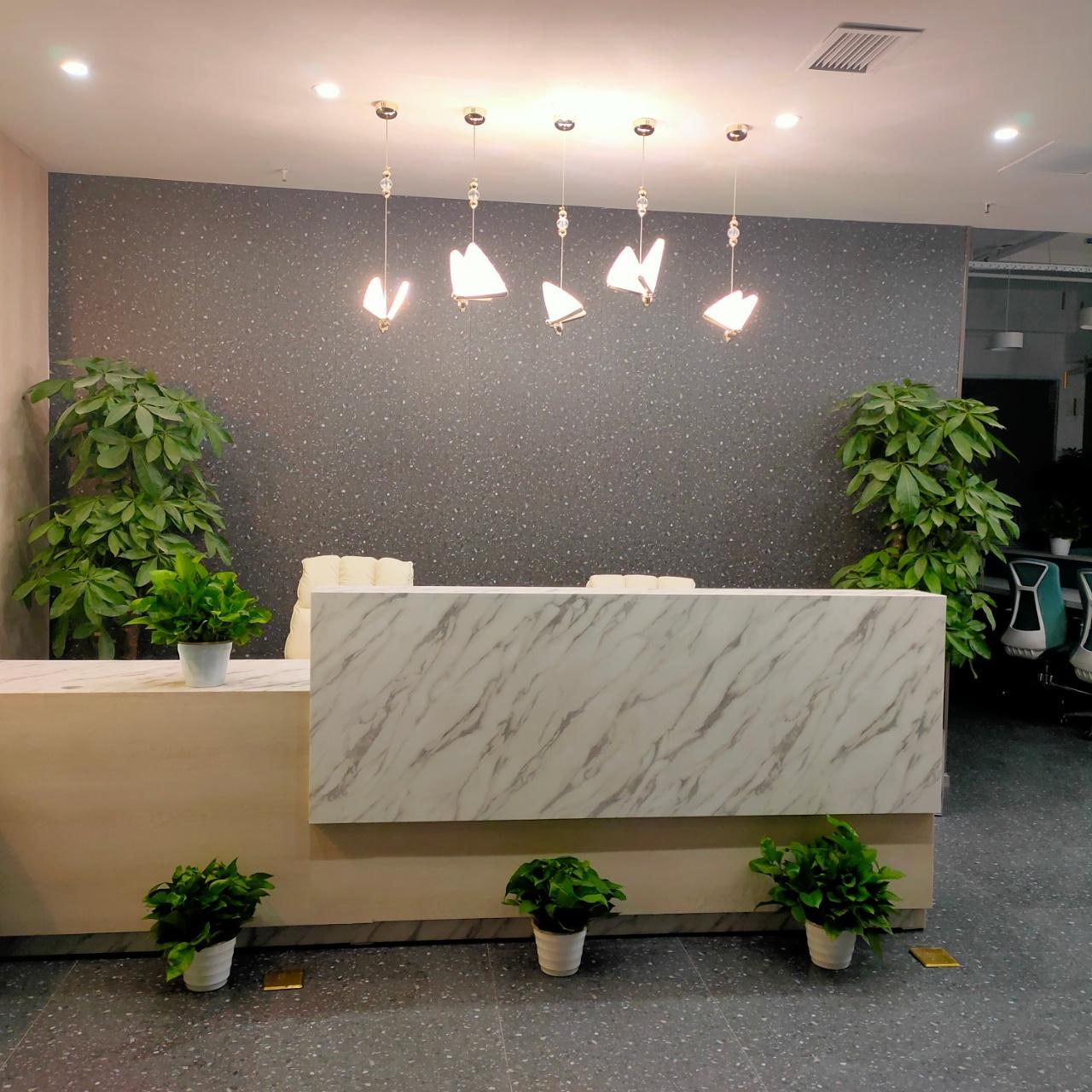 环球中心科技艺术风办公室 188平3隔间12工位朝内带阳台