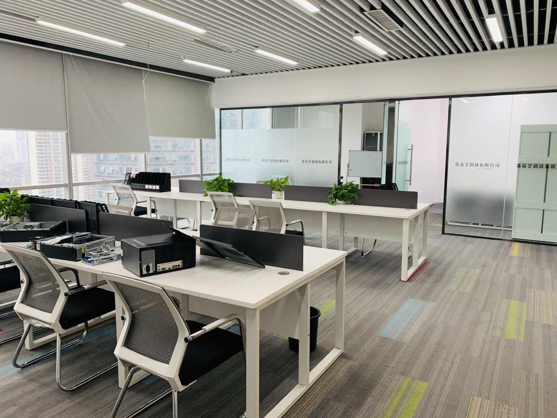 时代8号188平米 4隔间28工位 视野宽阔丨工区采光优秀