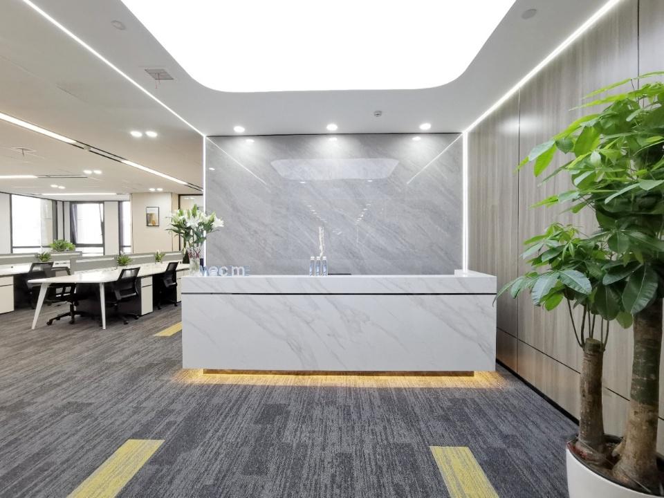 市中心超甲写字楼 丰德成达中心 366平 5隔间24工位 双面采光