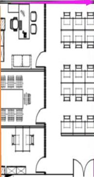 飞大一号广场 133平米 3隔间12工位