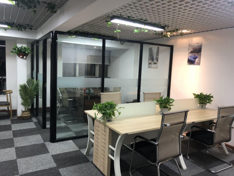 天紫界牛王庙地铁口85平米 现代简约风格办公轻松,拎包办公