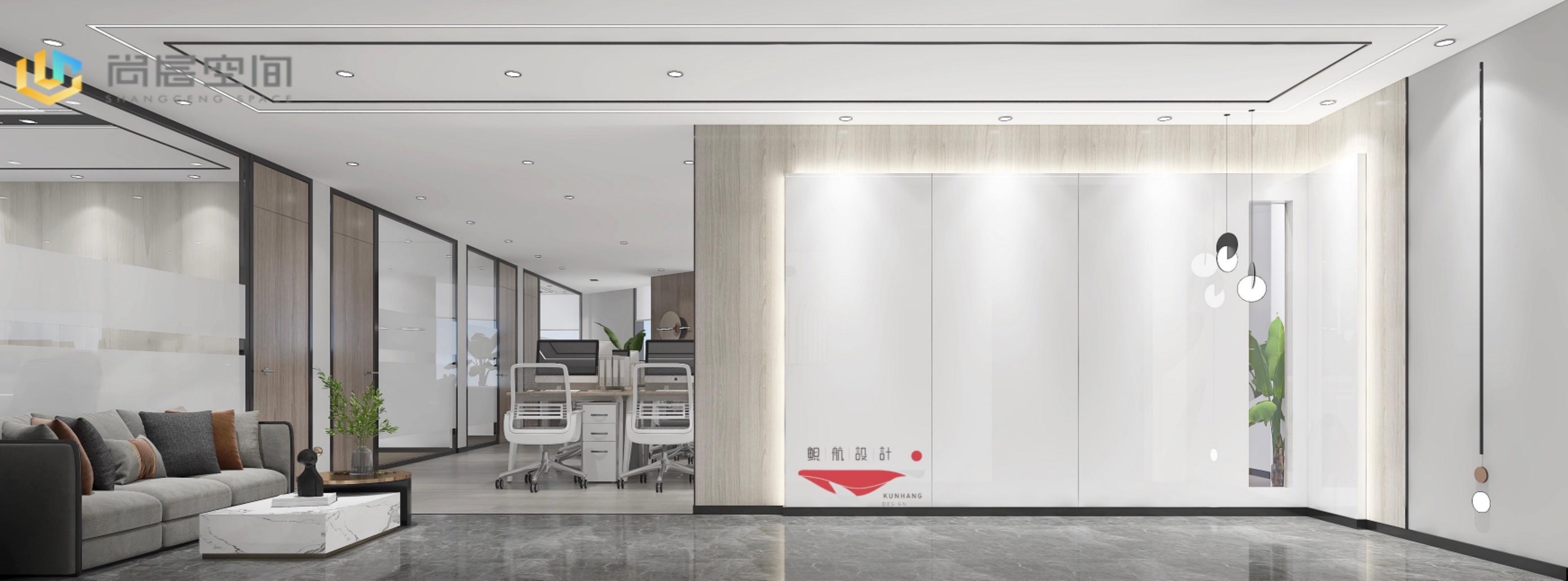 大陆国际228平,户型方正,精装修带家具,轻奢现代风