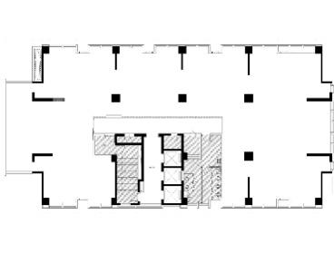 【整层】汇融广场(锦华)  870平方米 精装空房 无加时费