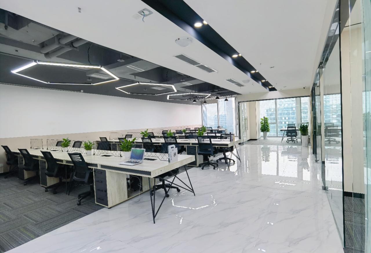 金融城地铁口精装现房5隔间30工位超甲楼宇环境好