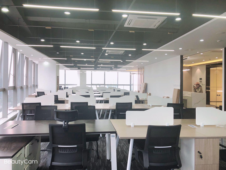 博雅城市广场 536平米  隔间or工区采光优秀、独立空调