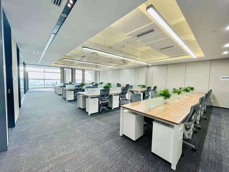 蓝润摩里中心5隔间1会议室加39工位艺术精装带家具