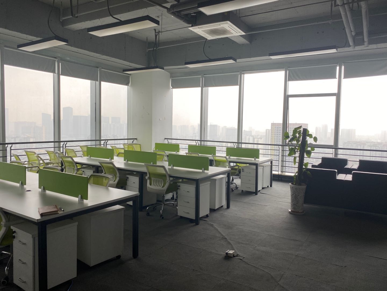 中汇国际中心238平米,开放式办公空间双面采光