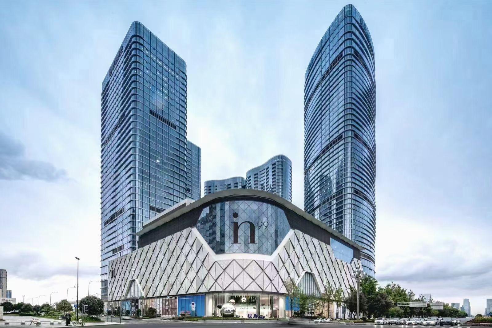 锦江区市中心地铁口核心地段富力中心全新装修艺术气息4隔间+40工位