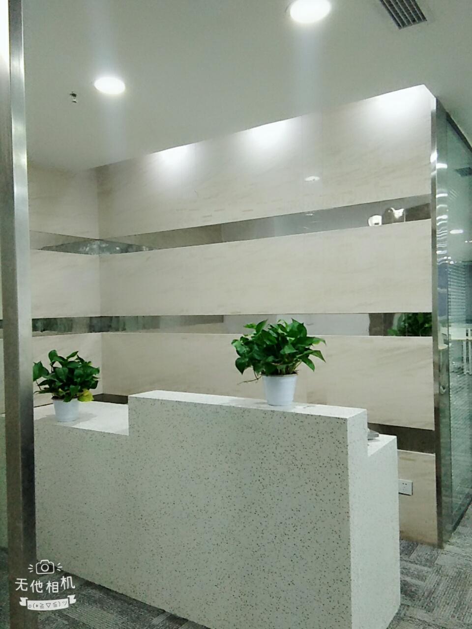 金沙万瑞中心235平,户型方正,精装修家具可调换,小清新风